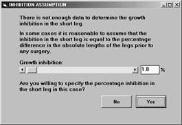 Pedipod - Assumptions Menu